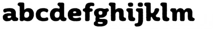 Moreno Rough Two Bold Font LOWERCASE