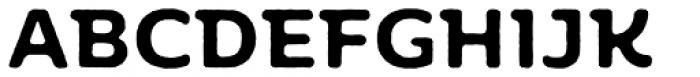 Moreno Rough Two Semi Bold Font UPPERCASE