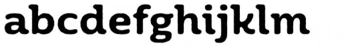 Moreno Rough Two Semi Bold Font LOWERCASE