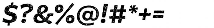 Moreno Rust Semi Bold Italic Font OTHER CHARS