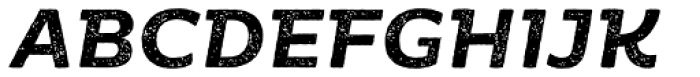 Moreno Rust Semi Bold Italic Font UPPERCASE