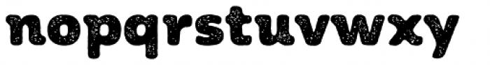 Moreno Rust Two Black Font LOWERCASE