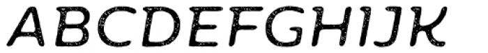 Moreno Rust Two Regular Italic Font UPPERCASE