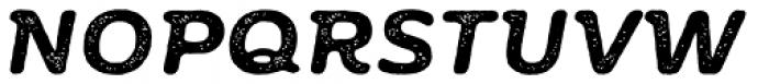 Moreno Rust Two Semi Bold Italic Font UPPERCASE