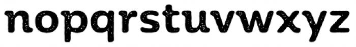 Moreno Rust Two Semi Bold Font LOWERCASE