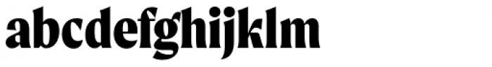 Moret Extrabold Font LOWERCASE