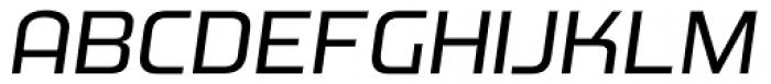 Morgan Bg2 Oblique Font UPPERCASE