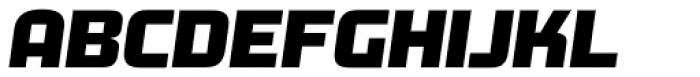 Morgan Bg3 Oblique Font LOWERCASE