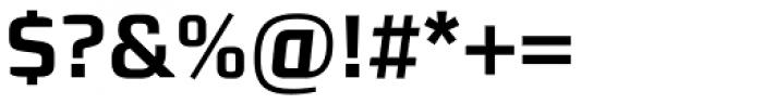 Morgan Sans Bold Font OTHER CHARS