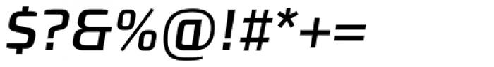 Morgan Sans Medium Italic Font OTHER CHARS