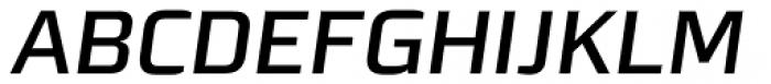 Morgan Sans Medium Italic Font UPPERCASE