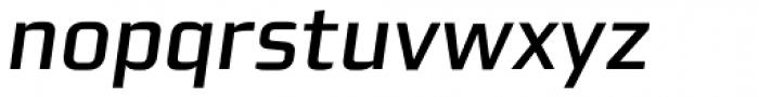 Morgan Sans Medium Italic Font LOWERCASE