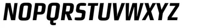 Morgan Sn Cn Lining Bold Oblique Font UPPERCASE