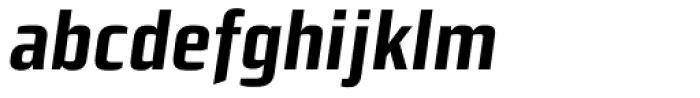 Morgan Sn Cn Lining Bold Oblique Font LOWERCASE
