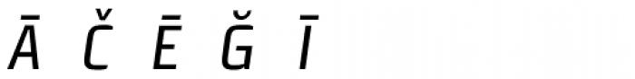 Morgan Sn Cn Pi Oblique Font UPPERCASE