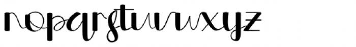 Morgana Script Regular Font LOWERCASE
