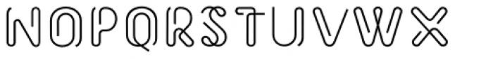 Morice Straight Bold Font UPPERCASE