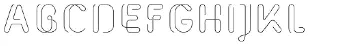 Morice Straight Font UPPERCASE