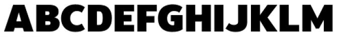 Moris Black Font UPPERCASE