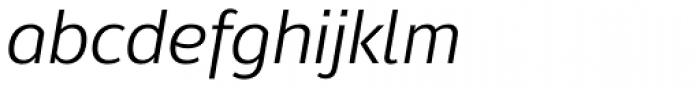 Moris Italic Font LOWERCASE