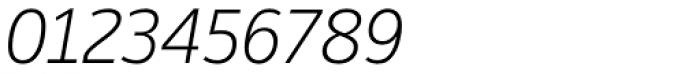Moris Light Italic Font OTHER CHARS