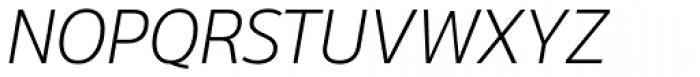 Moris Light Italic Font UPPERCASE