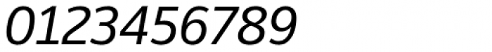 Moris Medium Italic Font OTHER CHARS