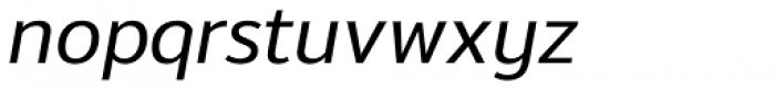 Moris Medium Italic Font LOWERCASE
