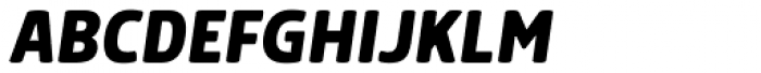 Morl Bold Italic Font UPPERCASE