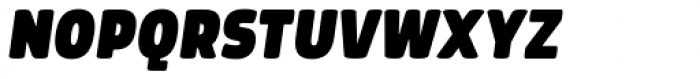 Morl Extra Black Italic Font UPPERCASE