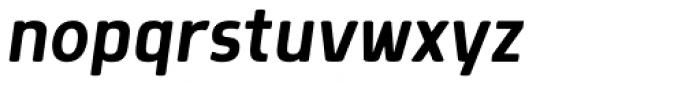 Morl Italic Font LOWERCASE