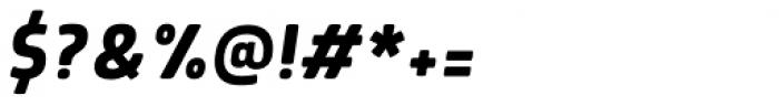 Morl Medium Italic Font OTHER CHARS