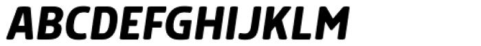 Morl Medium Italic Font UPPERCASE