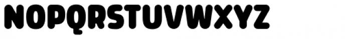 Morl Rounded Black Font UPPERCASE