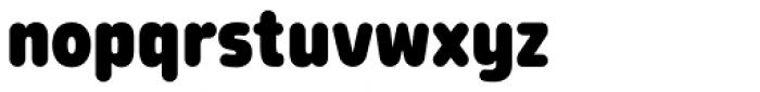 Morl Rounded Black Font LOWERCASE