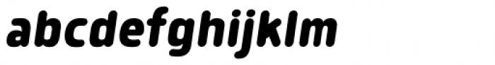 Morl Rounded Bold Italic Font LOWERCASE