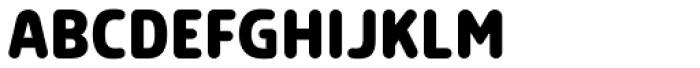 Morl Rounded Bold Font UPPERCASE