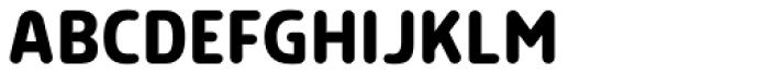 Morl Rounded Medium Font UPPERCASE
