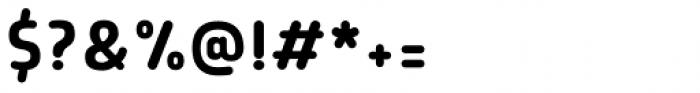 Morl Rounded Regular Font OTHER CHARS