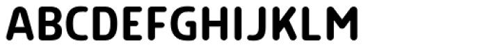 Morl Rounded Regular Font UPPERCASE