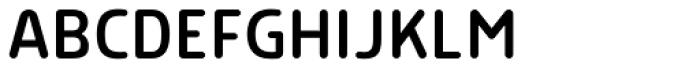 Morl Rounded Semi Light Font UPPERCASE
