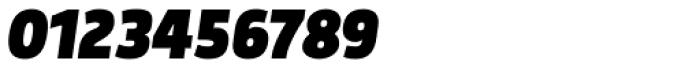 Morl Sans Black Italic Font OTHER CHARS