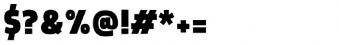 Morl Sans Black Font OTHER CHARS