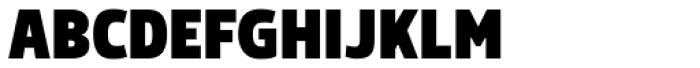 Morl Sans Black Font UPPERCASE