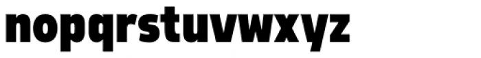 Morl Sans Black Font LOWERCASE