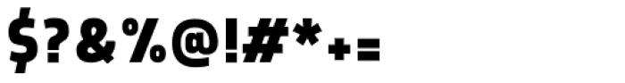Morl Sans Bold Font OTHER CHARS