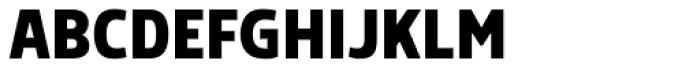 Morl Sans Bold Font UPPERCASE