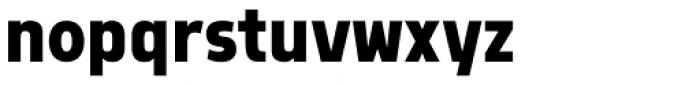 Morl Sans Bold Font LOWERCASE