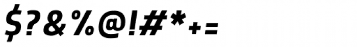Morl Sans Italic Font OTHER CHARS