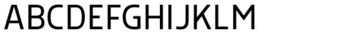 Morl Sans Light Font UPPERCASE
